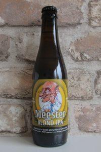 Meester blond IPA.Brouwerij De Meester.Het Exclusieve Gerstenat
